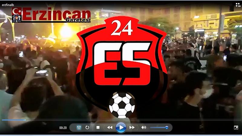 Anagold 24 Erzincanspor 2. Lig'de
