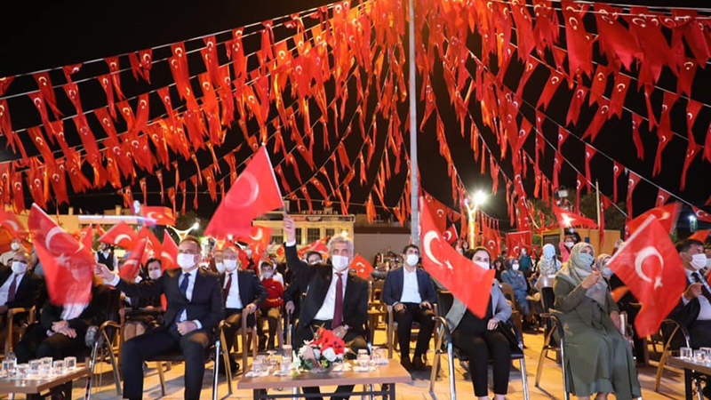 15 Temmuz şehitleri Erzincan'da anıldı