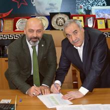 Tercan'da imzalar atıldı