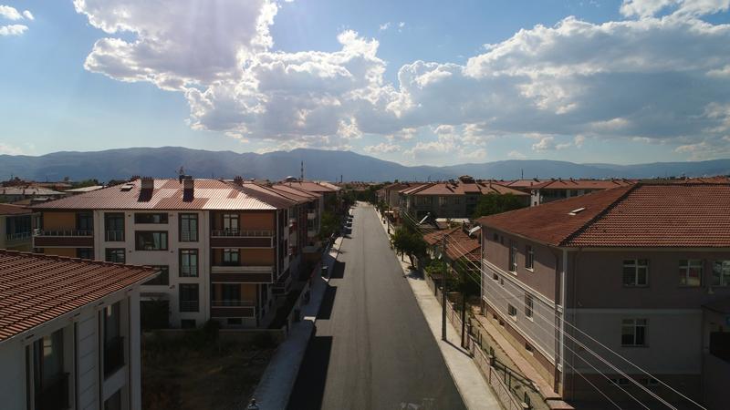 Erzincan'da yollar genişletiliyor
